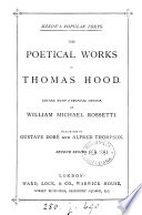 The poetical works of Thomas Hood, ed. by W.M. Rossetti