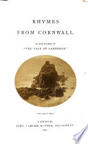 Rhymes from Cornwall