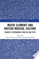 Muzio Clementi and British Musical Culture