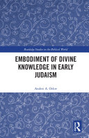 Embodiment of Divine Knowledge in Early Judaism Pdf/ePub eBook
