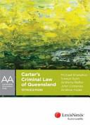 Carter s Criminal Law of Queensland
