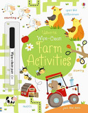 Wipe Clean Farm Activities