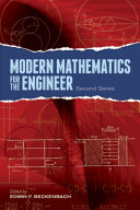 Modern Mathematics for the Engineer: Second Series