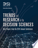 Trends And Research In The Decision Sciences Book PDF