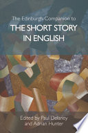 Edinburgh Companion to the Short Story in English Book