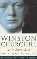 Winston Churchill as I Knew Him
