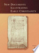New Documents Illustrating Early Christianity  4