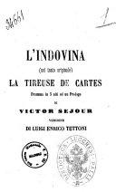 L'indovina dramma in 5 atti ed un prologo di Victor Séjour
