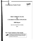 The Current State of Canadian Family Finances 2000 Report