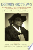 Boundaries and History in Africa Book