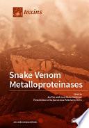 Snake Venom Metalloproteinases Book