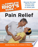 The Complete Idiot s Guide to Pain Relief