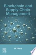 Blockchain and Supply Chain Management Book