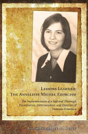 Lessons Learned  The Anneliese Michel Exorcism
