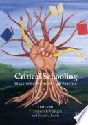 Critical Schooling Book
