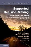 Supported Decision Making