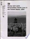 Sheep and Lamb Nonpredator Death Loss in the United States  2004