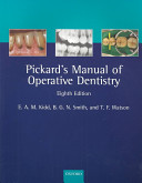 Cover of Pickard's Manual of Operative Dentistry