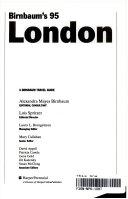 Birnbaum S London 1995