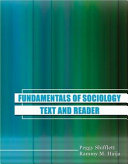 Foundations Of Sociology Book