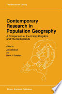 Contemporary Research in Population Geography