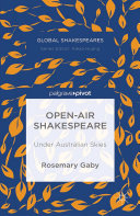 Pdf Open-Air Shakespeare Telecharger