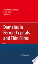 Domains In Ferroic Crystals And Thin Films Book PDF