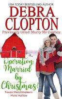 Operation: Married by Christmas Pdf/ePub eBook