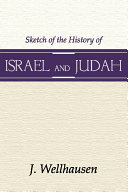 Sketch of the History of Israel and Judah  3rd Edition