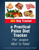 A Practical Paleo Diet Tracker Book
