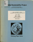 Global Sustainability Studies