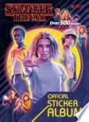 Stranger Things The Official Sticker Album Stranger Things