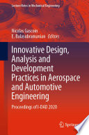 Innovative Design  Analysis and Development Practices in Aerospace and Automotive Engineering