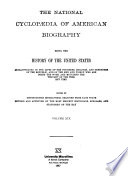 The National Cyclopaedia of American Biography