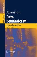 Journal on Data Semantics IV [Pdf/ePub] eBook