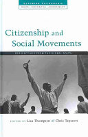 Citizenship and Social Movements