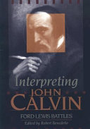 Interpreting John Calvin