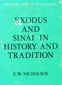 Exodus and Sinai in History and Tradition