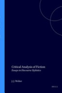 Critical Analysis of Fiction