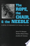 The Rope, The Chair, and the Needle