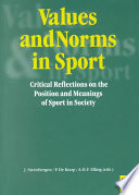 Values and Norms in Sport