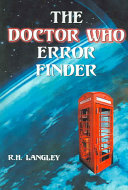 The Doctor Who Error Finder