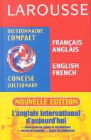 Larousse concise dictionary French English  English French