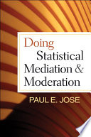 Doing Statistical Mediation And Moderation Book PDF