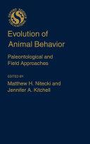 Pdf Evolution of Animal Behavior Telecharger