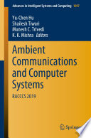 Ambient Communications and Computer Systems Book