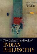 The Oxford Handbook of Indian Philosophy