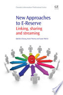 New Approaches To E Reserve Book PDF