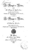 Il viaggio a Reims, ossia L'Albergo del giglio d'oro