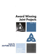 Award Winning Joint Projects